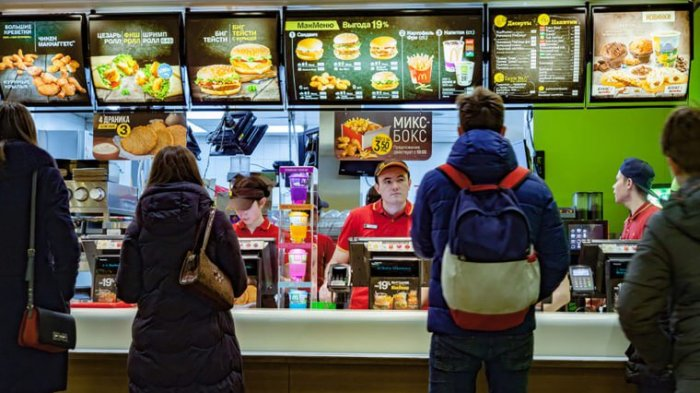 Antrian di McDonalds
