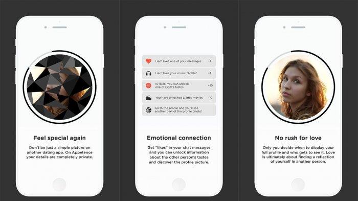 Appetence App - Bukan Pakai Foto, Aplikasi Kencan Online Ini Ajak Penggunanya Kenalan Pakai Ini