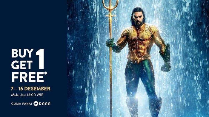 Promo TIX ID Tiket Film Aquaman 'Buy One Get One' Mulai 7-16 Desember, Lihat Ketentuannya!
