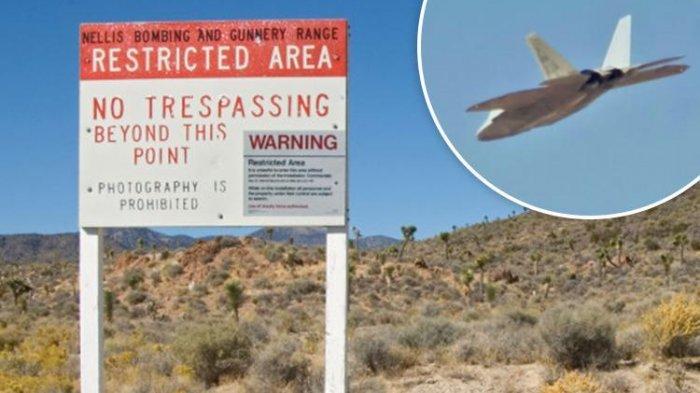 Rumor-rumor beredar, Area 51 ini adalah lokasi tempat angkatan militer Amerika Serikat menguji alien dan UFO.
