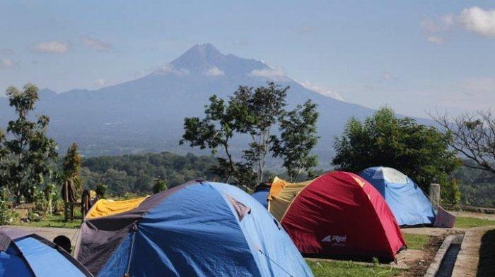 Rute dan Harga Tiket Masuk Watu Tapak Camp Hill Terbaru, Tempat Berkemah di Tebing Breksi Sleman
