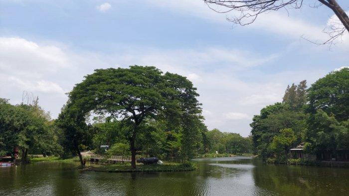 Area memancing di Taman Satwa Taru Jurug