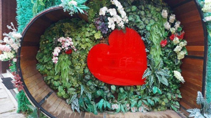 Area Taman Cinta di Griyane Mbah Wongso