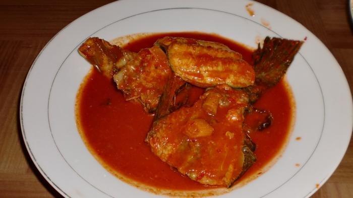 Asam pedas ikan baung