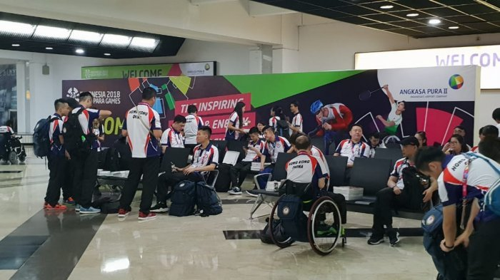 Penumpang di Bandara Soekarno-Hatta Tak Terganggu Kedatangan Atlet Asian Para Games 2018