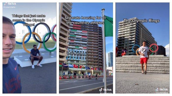 Viral Video Atlet Rugby Amerika Perlihatkan Fasilitas Olimpiade Tokyo 2020 yang Bikin Takjub