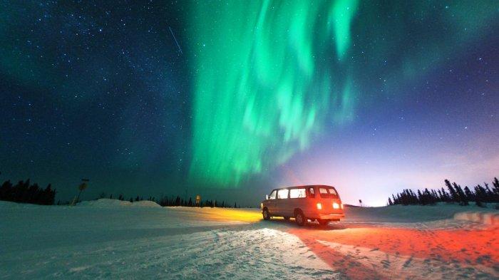Ilmuwan Temukan Alasan di Balik Perbedaan Tampilan Aurora di Kutub Utara dan Kutub Selatan