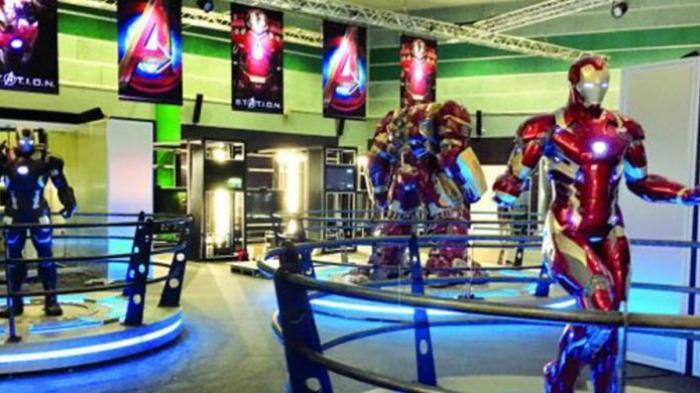 Avengers STATION - Yuk ke Singapura, Ada 'Markas' Terbesar Superhero Buatan Marvel Lho