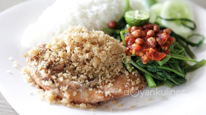 Rumah Makan Ny Nita Pesanggrahan - Ayam Presto Goreng Bikin Ketagihan, Versi Bakar Sangat Menggoda