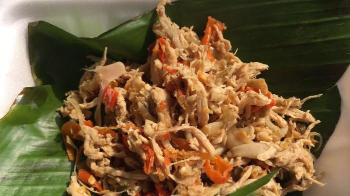 Menu Sahur: Resep Ayam Suwir Enak, Bumbunya Sedap Bikin Makan Jadi Lahap