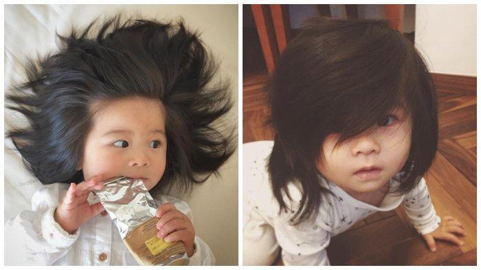 Melihat Baby Chanco, Bayi Berusia 1 Tahun dengan Rambut Tebal yang Sangat Menggemaskan