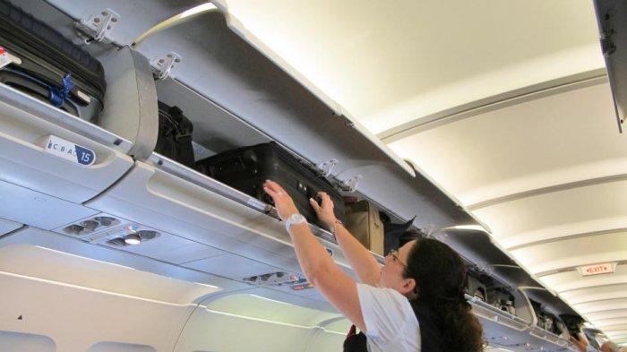 Ilustrasi bagasi pesawat