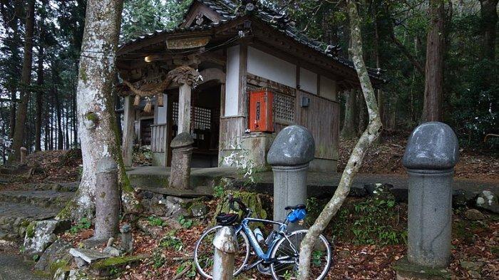 Bagian depan Kuil Mara Kannon, Jepang