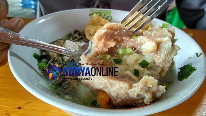 Bukan Daging atau Telur, Bakso di Bojonegoro Berisi Buah Durian