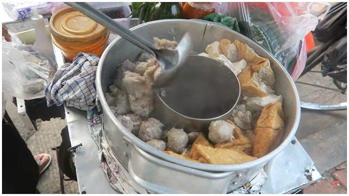Pilihan bakso di Bakso Malang Mas Ipul