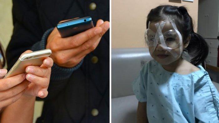 Gunakan Smartphone Berlebihan, Balita Asal Thailand Ini Harus Jalani Operasi Mata
