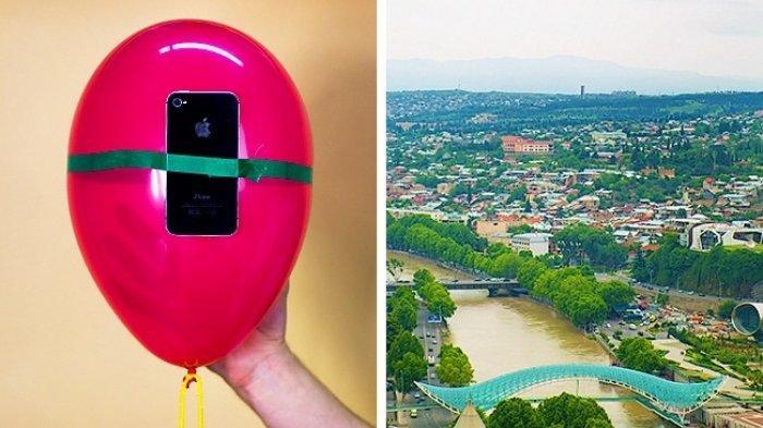 5 Rahasia Mengambil Foto Layaknya Profesional Hanya Menggunakan Ponsel, Balon Jadi Pengganti Drone