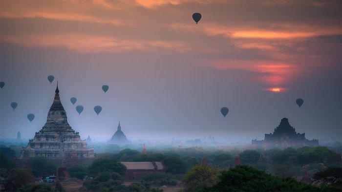 Pariwisata Menurun Selama Masa Pandemi, Harta Karun Kuil Myanmar jadi Incaran Penjarah