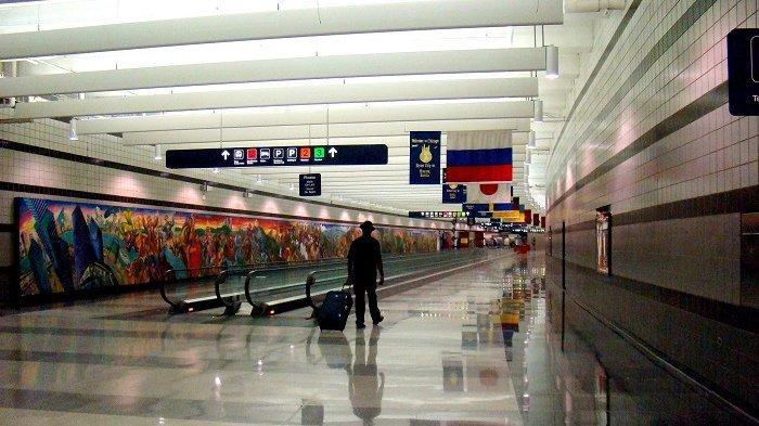 Takut Terbang Pulang karena Corona, Pria Ini Pilih Tinggal di Bandara Selama 3 Bulan
