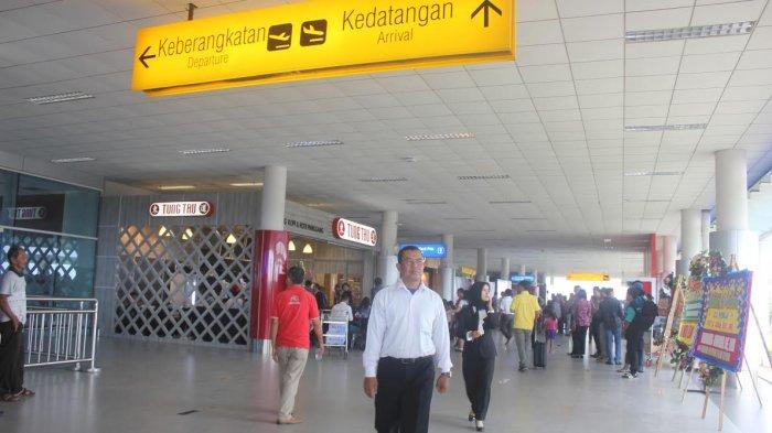 Tiket Pesawat Mahal, Bandara Depati Amir Kehilangan 1.000 Penumpang Setiap Hari