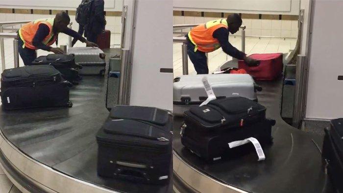 Dengan Cara Tak Terduga, Petugas Bandara di Afrika Selatan Permudah Penumpang Saat Ambil Koper