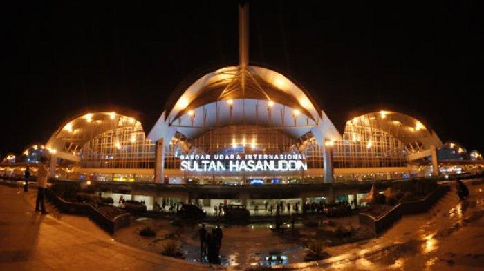 Bandara Internasional Sultan Hasanuddin Makassar.