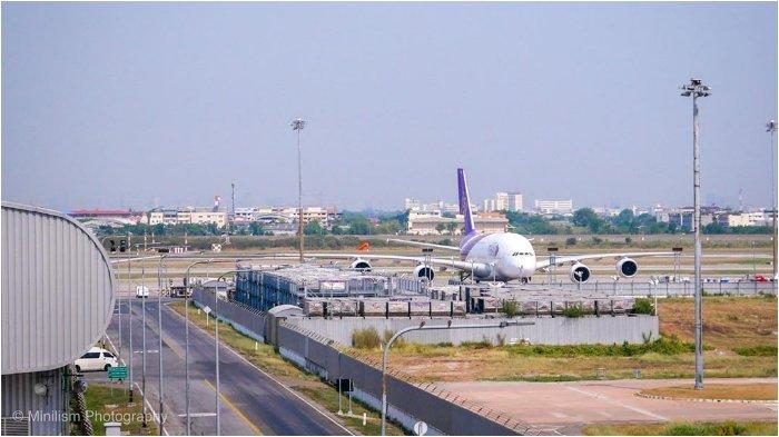 Ilustrasi Bandara Internasional Suvarnabhumi Bangkok