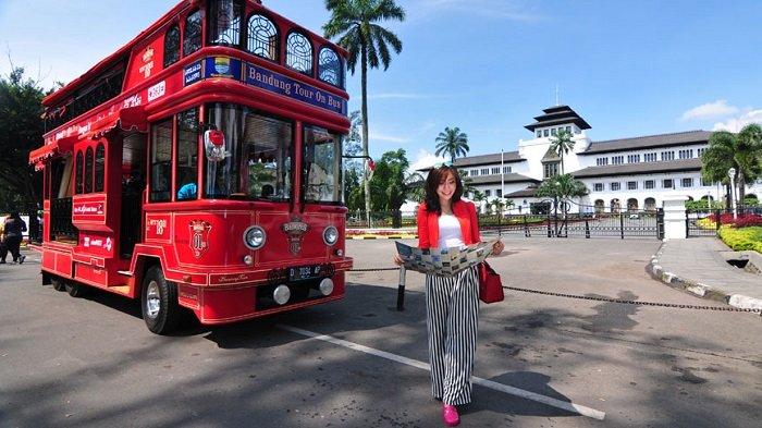 Liburan Akhir Pekan di Bandung, Coba Keliling Kota dengan Naik Bandros, Cuma Rp 20 Ribu