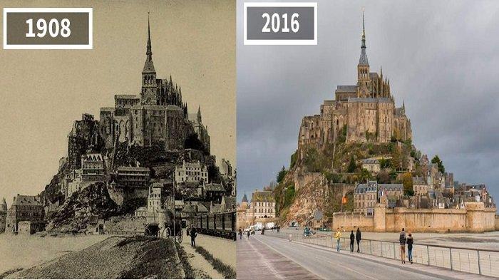 Kekinian vs Kekunoan! Ternyata Ini Penampakan Destinasi Traveling Favorit Dunia Zaman Old