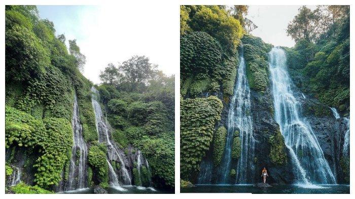 Banyumala Twinn Waterfalls Buleleng Bali