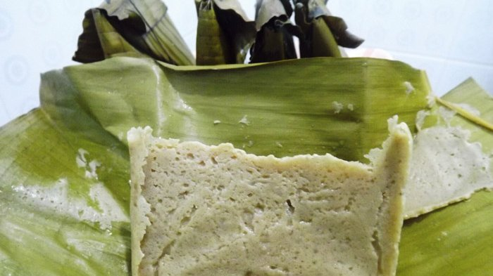 Kuliner Sulawesi - Barongko, Kudapan Bercita Rasa Manis dari Tanah Bugis