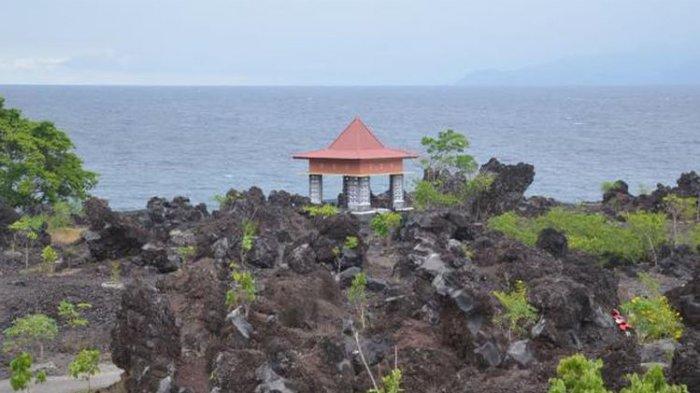 3 Destinasi Bahari Menakjubkan di Ternate, Pantai Tobololo Satu-satunya Pantai Berpasir Putih