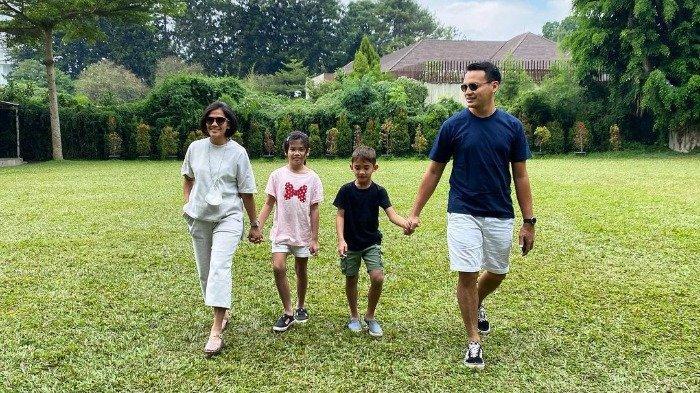 Potret seru liburan ala keluarga Ben Joshua saat di Bandung.