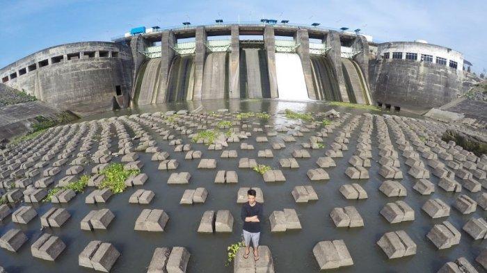 Melihat Keindahan Bendungan Sampean Baru, Dam dengan Lanksap Instagramable di Bondowoso