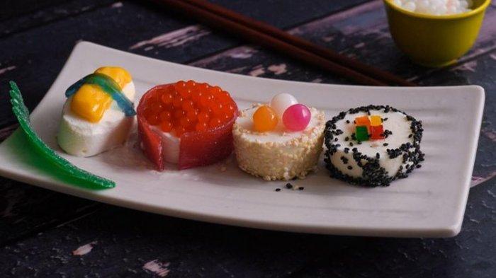 Di Bandung, Ada Es Krim dengan Bentuk Ramen dan Sushi Khas Jepang