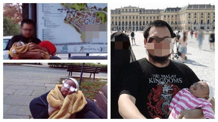 Viral di Medsos - Menghemat Bujet, Keluarga Ini Rela Tidur di Jalanan Saat Liburan di Italia