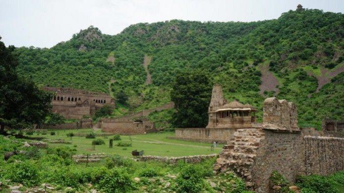 Bhangarh Fortis, Tempat Misterius di India yang Tak Boleh Dikunjungi saat Matahari Terbenam