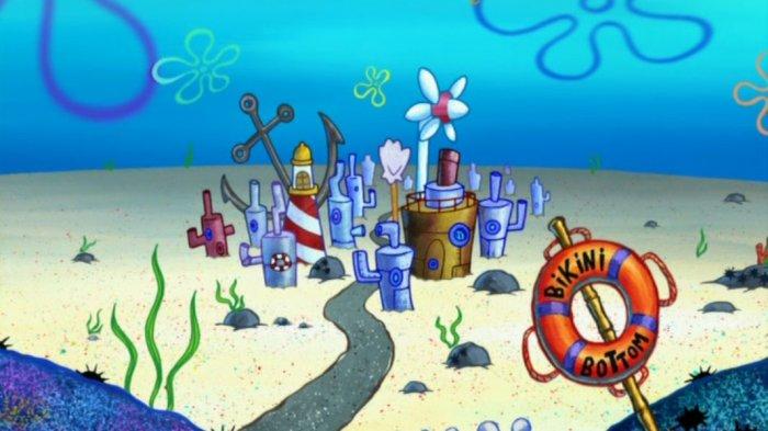 Kota Bikini Bottom - Berada di Dasar Laut, Dimanakah Sebenarnya Rumah Spongebob Berada?