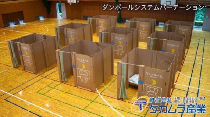 Uniknya Bilik Kardus di Jepang untuk Cegah Virus Corona, Bisa Digunakan di Berbagai Fasilitas Publik