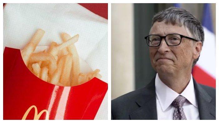 Rahasia di Balik Kelezatan Kentang Goreng McDonalds, Diam-diam Ada Peran Bill Gates