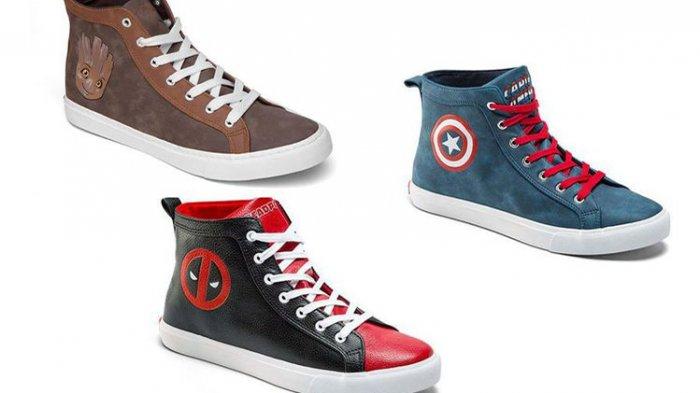 Kerjasama dengan Converse All-Star, Marvel Bikin Sepatu Bertema 'Black Panther'