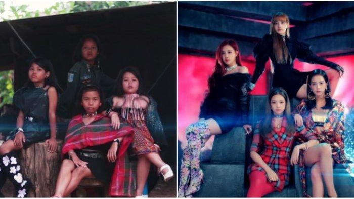 4 Bocah asal Thailand Meng-cover Lagu BLACKPINK dengan Biaya Minim, Langsung Viral di Media Sosial