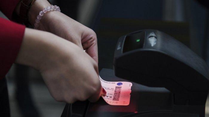 Ilustrasi cek boarding pass