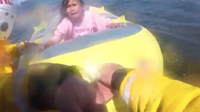 Bocah di Perahu Karet Terbawa Angin Sejauh 800 Meter dari Pantai, Tali Pengaman Tak Sengaja Terlepas