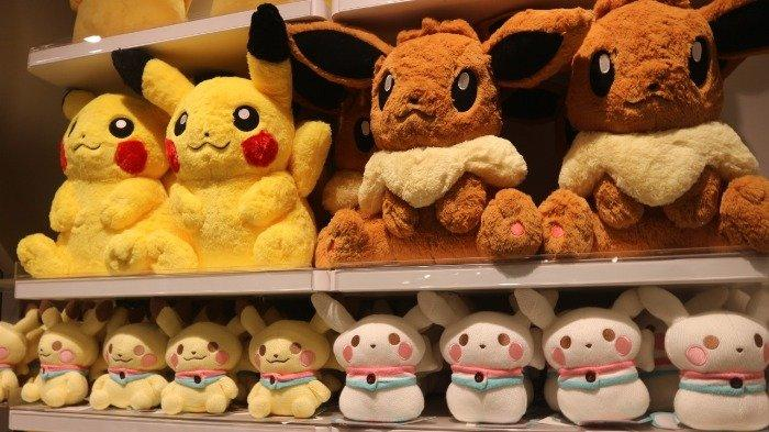 Boneka di Pokemon Center Singapore