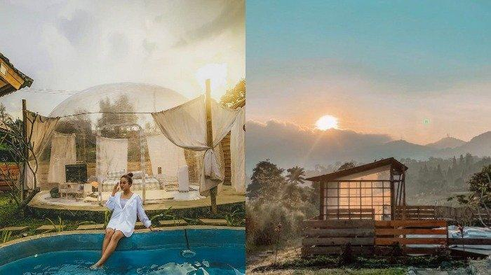 Staycation di Booba Glamping, Villa Bubble ala Jepang di Bogor