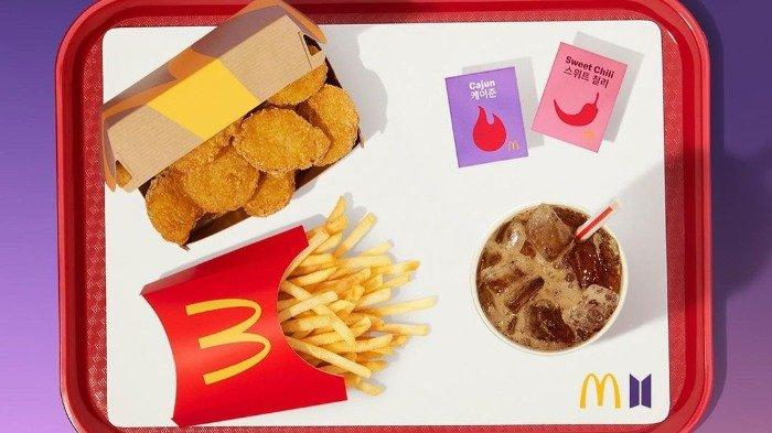 McDonald Mulai Debutnya dengan Menu Baru BTS Meal, Apa Saja Ya Isinya?