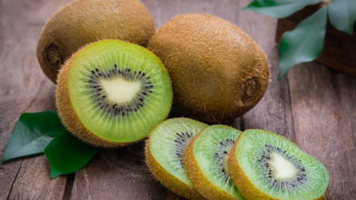 Ilustrasi Buah kiwi untuk menyehatkan kulit