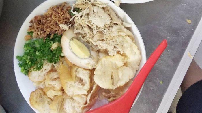 Bubur Ayam Agus di Malang untuk sarapan