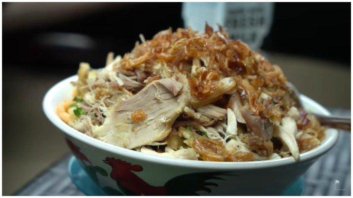 Seporsi Bubur Ayam Mayong